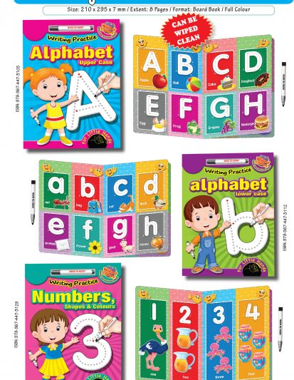 Writing Practice – Alphabet Upper Case