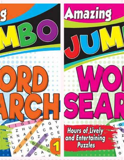 Amazing Jumbo- Word Search Combo Pack 1
