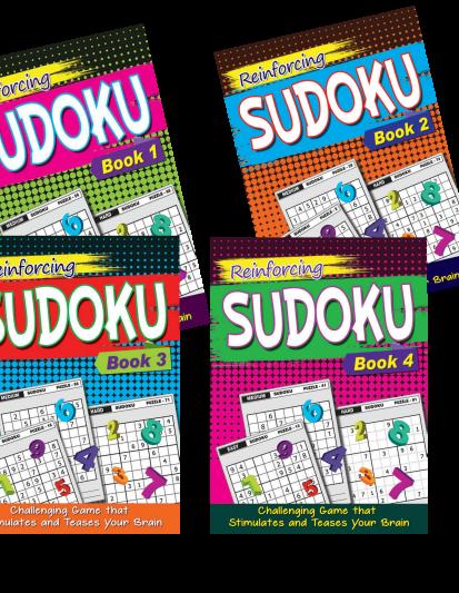 Sudoku 1 (Set Of 4)
