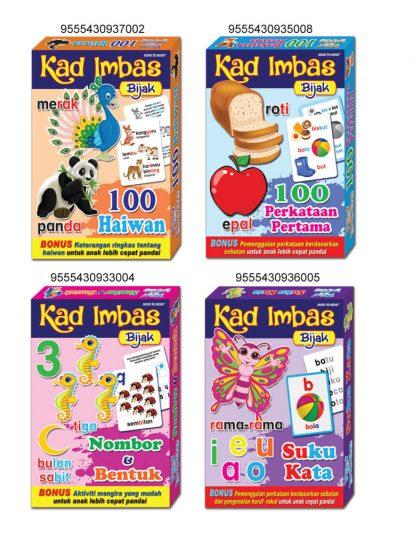 Kad Imbas Bijak 2 (Set Of 4)