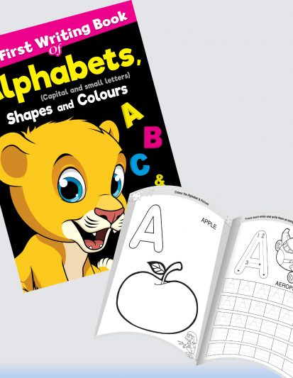 My First Writing Book Of Alphabets