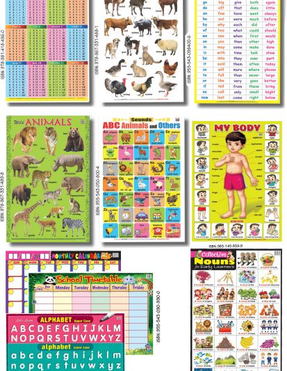 Educational Chart 2 (Set Of 10)