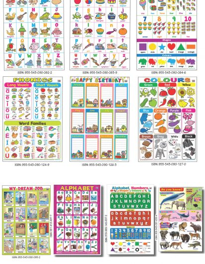 Educational Charts 1 (Set Of 10)
