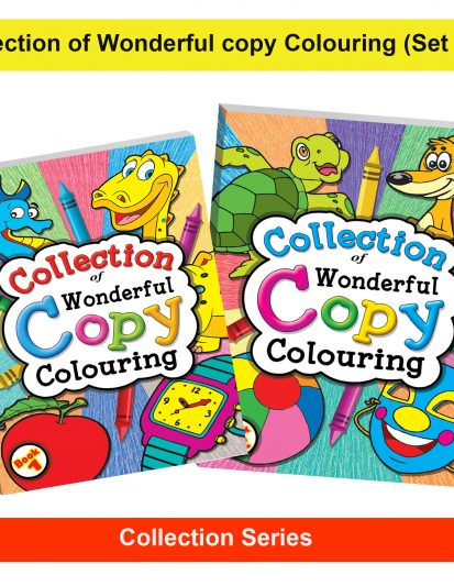 Collection Of Wonderful Copy Colouring (Combo Pack)