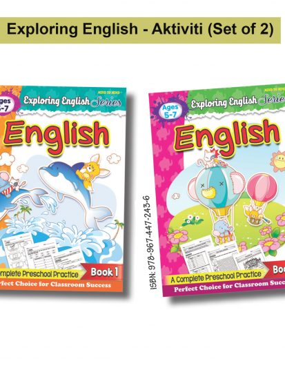 Exploring English Series (Set Of 2)