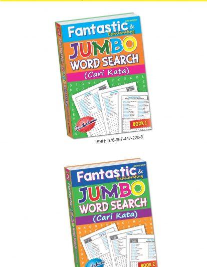 Fantastic & Exhilarating Jumbo Word Search (Cari Kata) – Set Of 2