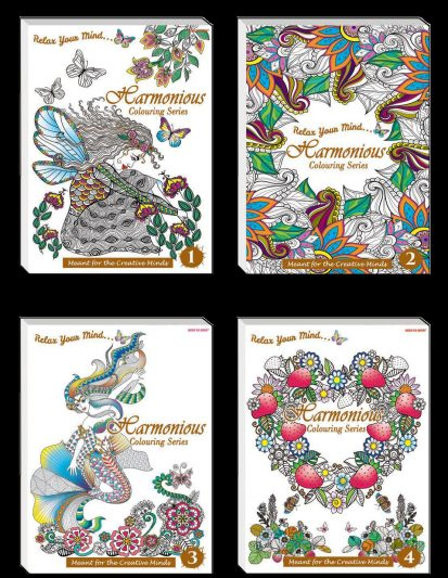 Harmonious Colouring Series (Set Of 4)