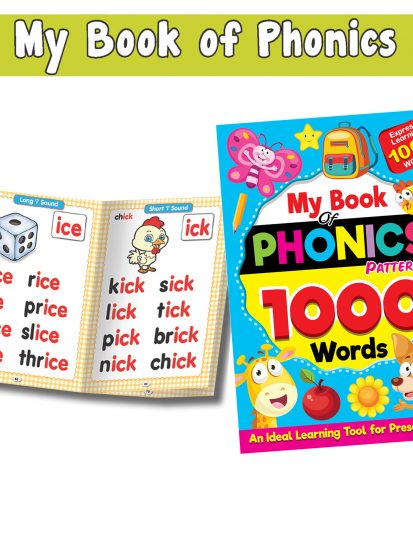 My Books Of Phonics Patterns 1000 Words