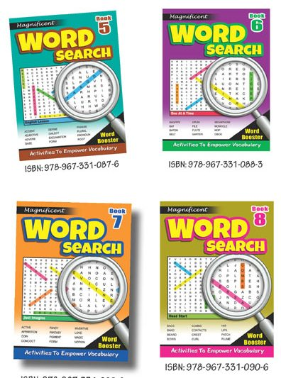 Magnificent Word Search 2 (Set Of 4)