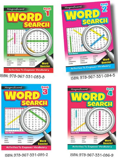 Magnificent Word Search 1 (Set Of 4)