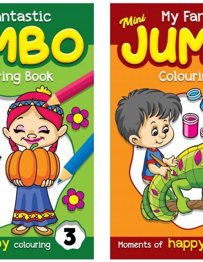 My Fantastic Mini Jumbo Colouring Book – Combo Pack 2