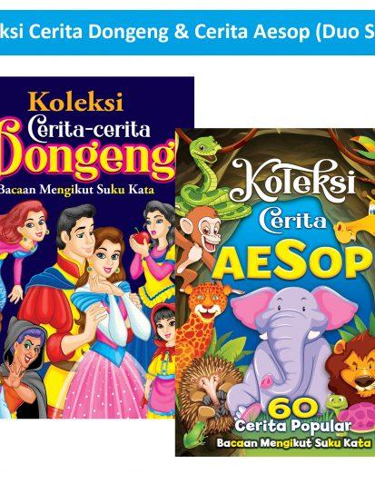 Koleksi Cerita Aesop 60 Cerita Popular & Koleksi Cerita Dongeng (Duo Set)