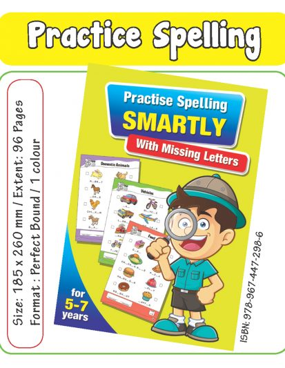 Practise Spelling SMARTLY With Missing Letters