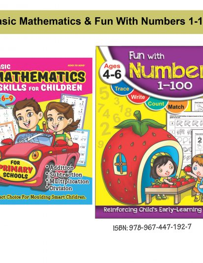 Basic Mathematics & Fun With Numbers 1-100