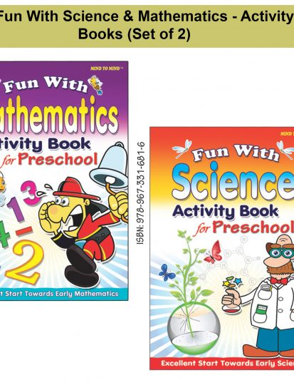 Fun With Science & Mathematics – Activity Books (Set Of 2)