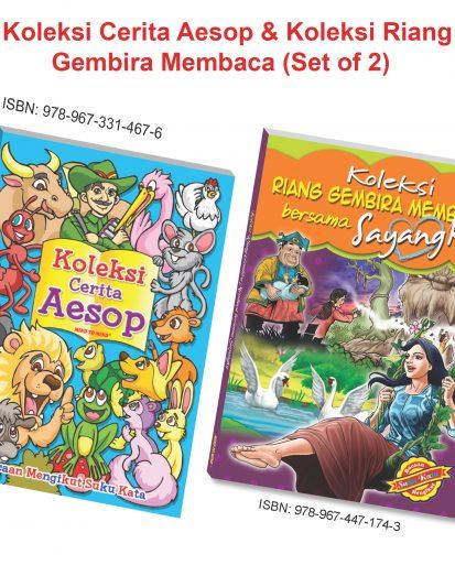 Koleksi Cerita Aesop & Koleksi Riang Gembira Membaca (Set Of 2)