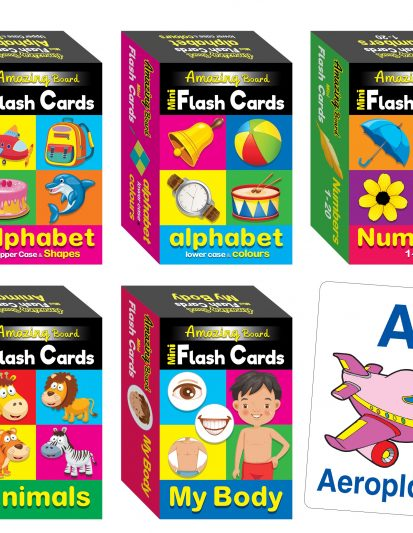 Amazing Board Mini Flash Cards (set Of 5)