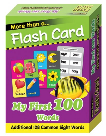 FLASH CARD MY FIRST 100 WORDS