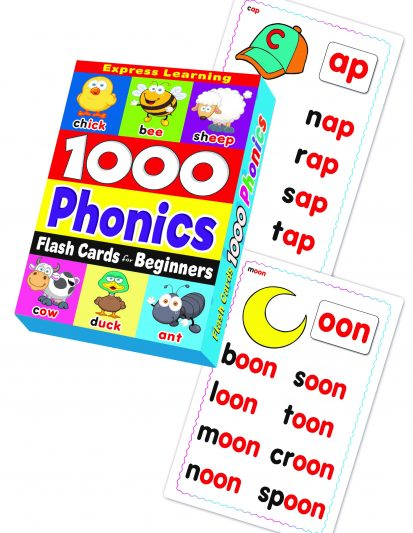 FLASH CARD BEGINNER 1000 PHONICS