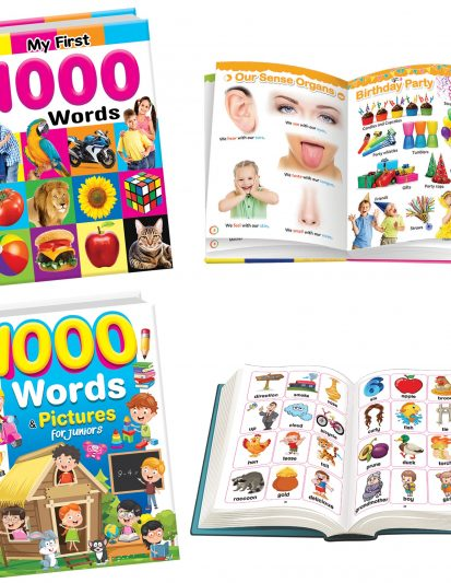MY FIRST 1000 WORDS & PICTURES FOR JUNIORS
