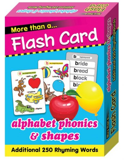 FLASH CARD ALPHABET PHONICS & SHAPES