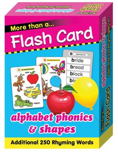 FLASH CARD ALPHABET PHONICS & SHAPES
