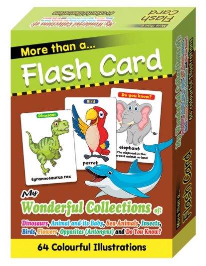 FLASH CARD MY WONDERFUL COLLECTIONS