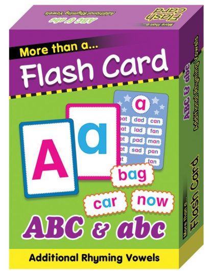 FLASH CARD-ABC & Abc