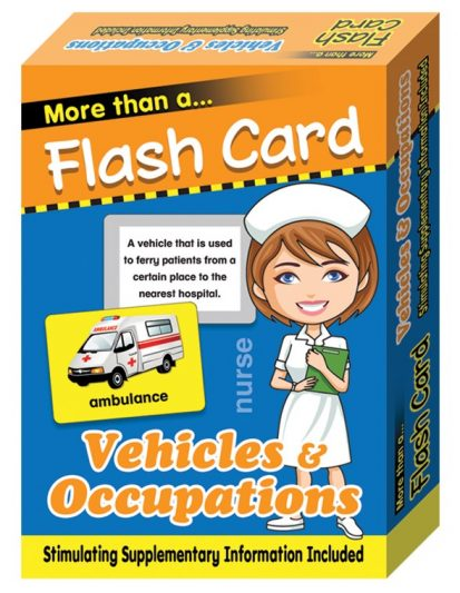 FLASH CARD-VEHICLES & OCCUPATIONS