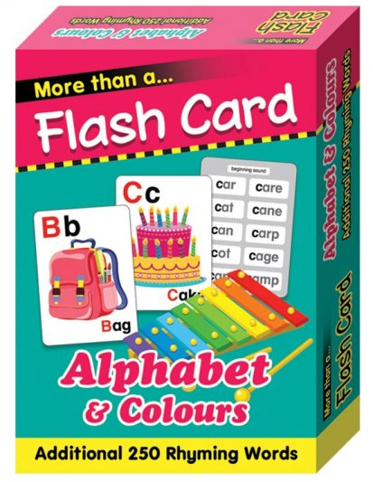 FLASH CARD – ALPHABET AND COLOURS