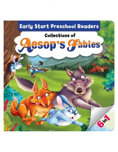 EARLY START PRESCHOOL READERS COLLECTION'S OF AESOP'S FABLES-BOOK 2