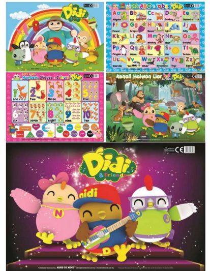 PUZZLES DIDI & FRIENDS