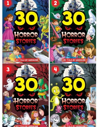 HORROR STORIES (SET OF 4)
