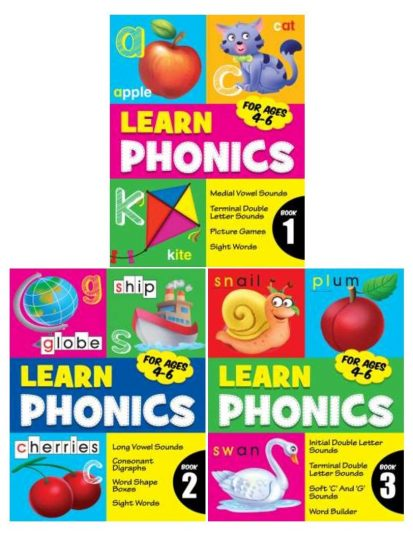 LEARN PHONICS (SET 0F 3)