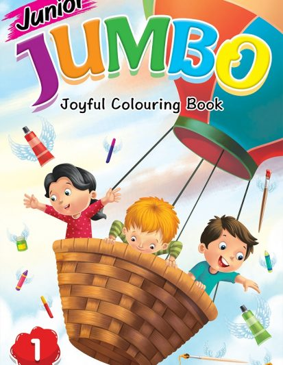 Junior Jumbo Joyful Colouring Book (set Of 4)