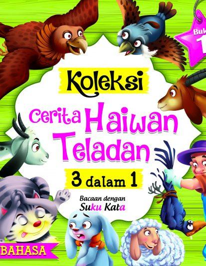 Koleksi Cerita Haiwan Teladan 3 Dalam 1 (set Of 4)